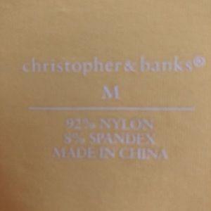 Christopher & Banks Tops - NWOT Christopher & Banks Yellow Tank Size M